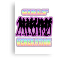 SNSD Girls' Generation Canvas Print