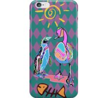 PSYCHEDELIC FRIENDS iPhone Case/Skin