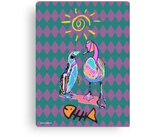PSYCHEDELIC FRIENDS Canvas Print