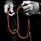 Buddhist Prayer Beads  by RajeevKashyap