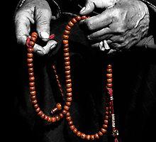 Buddhist Prayer Beads  by RajeevKashyap