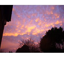 Mammatus Clouds Photographic Print
