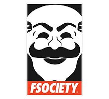 Fsociety (white borders) by Bluepotatogirl