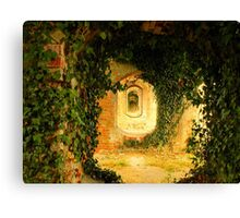 Red Brickwork. Canvas Print
