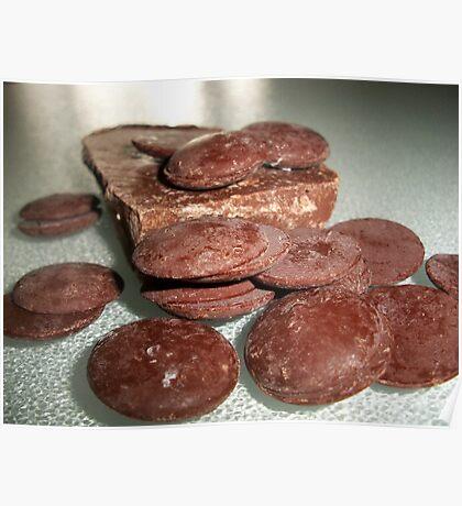 Melting Chocolate Poster