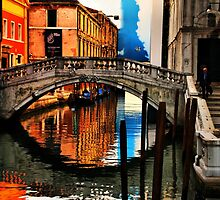 Reflecting on Venice by Barbara  Brown