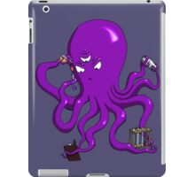 Scientist Octopus iPad Case/Skin