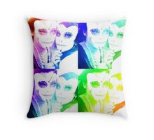 electric day of the undead Throw Pillow