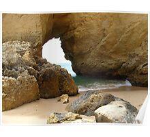 """""""Ocean Door""""  West Coast of Albufeira, Portugal Poster"""