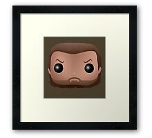 AMC The Walking Dead - Prison Rick Grimes - Funko Pop! Framed Print