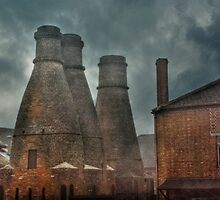 Kilns at the House of Marbles by Catherine Hamilton-Veal  ©