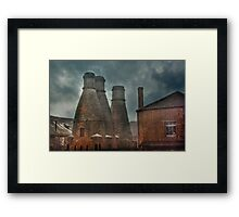 Kilns at the House of Marbles Framed Print