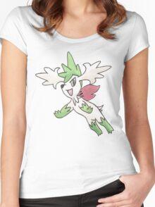 Shaymin Sky Forme by Derek Wheatley Women's Fitted Scoop T-Shirt