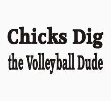 Volleyball Kids Tee