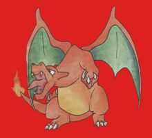 Charizard [A] by Derek Wheatley by eevilmurray