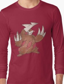 Excadrill by Derek Wheatley Long Sleeve T-Shirt