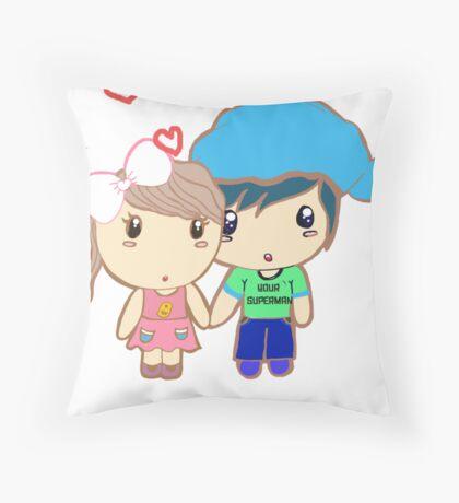 innocent love :) Throw Pillow