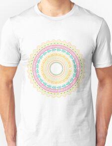Ethnic Aztec circle ornament seamless pattern T-Shirt