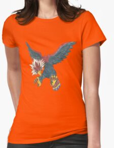 Braviary by Derek Wheatley Womens Fitted T-Shirt