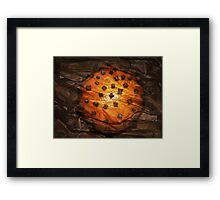 Spicy Orange Framed Print