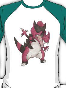 Krookodile by Derek Wheatley T-Shirt