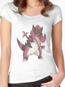 Krookodile by Derek Wheatley Women's Fitted Scoop T-Shirt