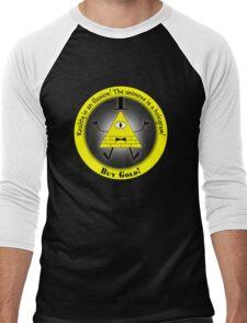 Reality Is An Illusion Men's Baseball ¾ T-Shirt
