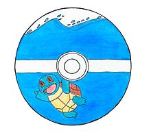 Squirtle in a Pokeball Photographic Print