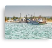 On Time Ferry Canvas Print