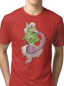 Thundurus by Derek Wheatley Tri-blend T-Shirt