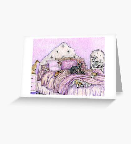 Sleepover Greeting Card