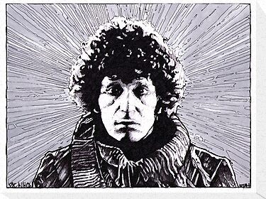 Dr Who - Tom Baker, The Fourth Doctor by richard b. hamer