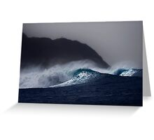 Hula Waves Greeting Card