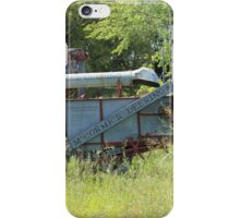 Vintage Harvester in a Field iPhone Case/Skin