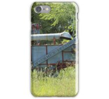 Vintage Harvester in a Field iPhone Case/Skin