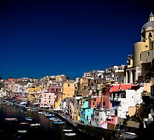 Procida sunrise by PhotosOnTheRoad