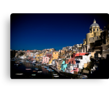 Procida sunrise Canvas Print