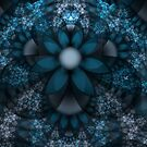 Bipolar Shapes-Mural 10 The Blues by plunder