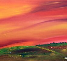 Fall in the Prairies by James Bryron Love
