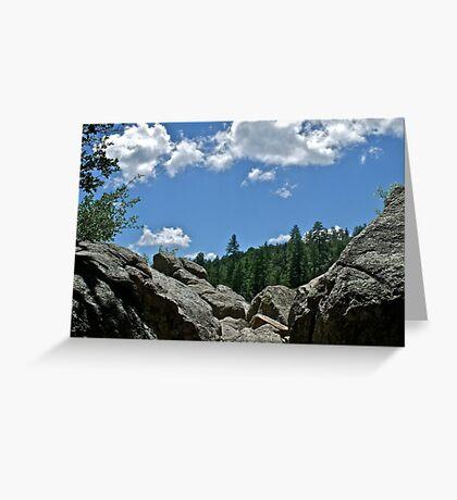 Prescott Arizona Sky Greeting Card