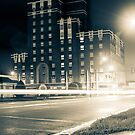 The Corner Penthouse of Spook Central by MikeZuniga