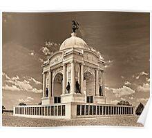 Pennsylvania Memorial Gettysburg Poster