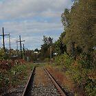 Saturday morning class - CN tracks in Pembroke by Christina Adams