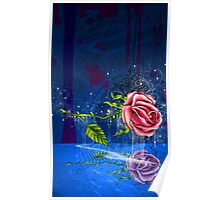 The Floating Rose Poster