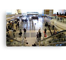 LA International Airport Film Shoot Canvas Print