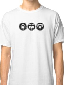 Three Wise Cybies Classic T-Shirt