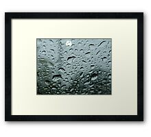 Rainy Day Reflections Framed Print