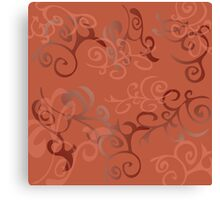 Abstract background with miscellaneous elements Canvas Print