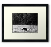 And We Became One, Self Portrait Framed Print