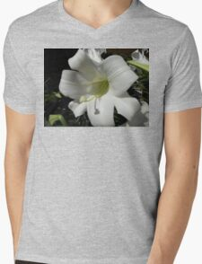 flowers Mens V-Neck T-Shirt